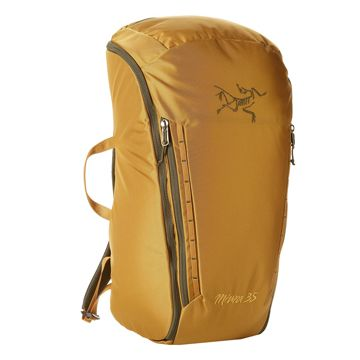Gear review of the Arc'teryx Miura 35 pack by Evening Sends.