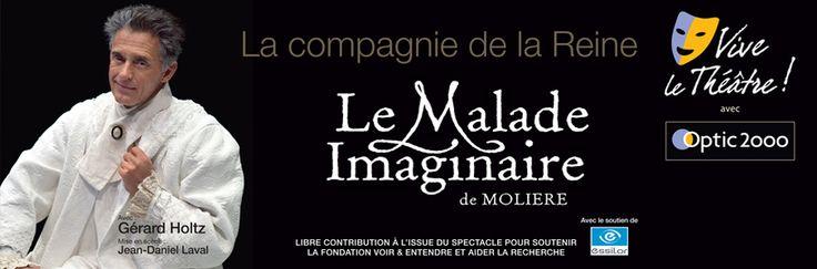 Représentation gratuite du Malade Imaginaire de Molière !