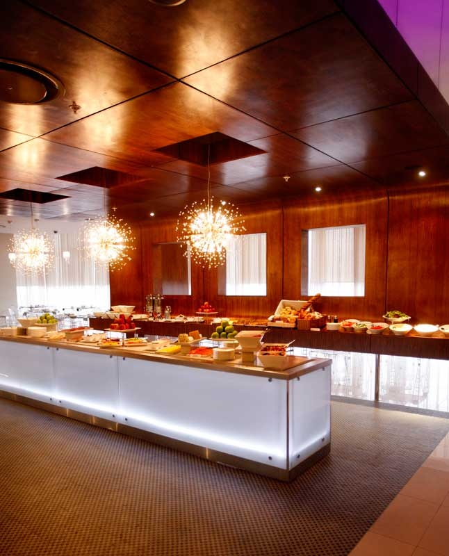 Breakfast Buffet at The Towers Restaurant - African Pride Crystal Towers Hotel & Spa