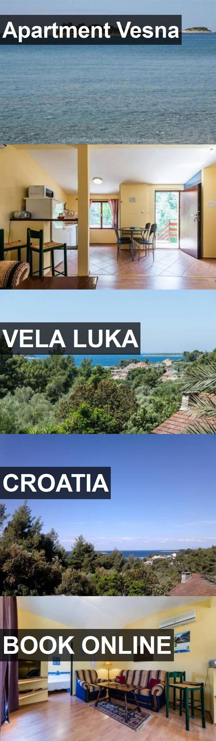 Apartment Vesna in Vela Luka, Croatia. For more information, photos, reviews and best prices please follow the link. #Croatia #VelaLuka #travel #vacation #apartment