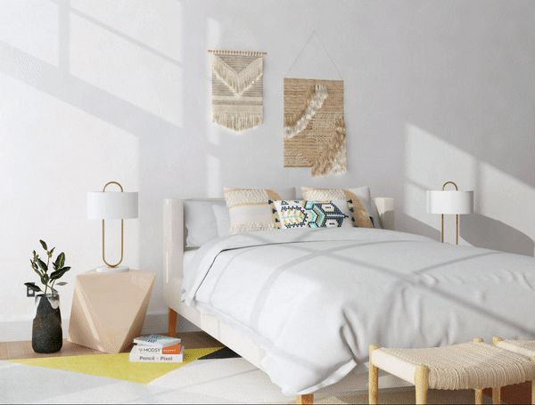 6 ideas for the wall above your bed modsy blog