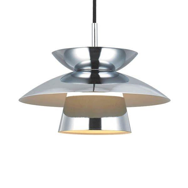 Midi Dallas pendel - Chrom - Ø24 - Loftlamper - Halo Tech Design