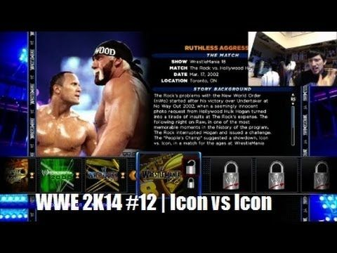 WWE 2K14 30 Years of Wrestlemania #12 | Icon vs Icon