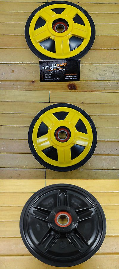 Snowmobile Parts 23834: Ski Doo Yellow Ppd Oem 141Mm Idler Wheel Oem503191312 Fits Most Rev And Xp 08-12 -> BUY IT NOW ONLY: $31 on eBay!