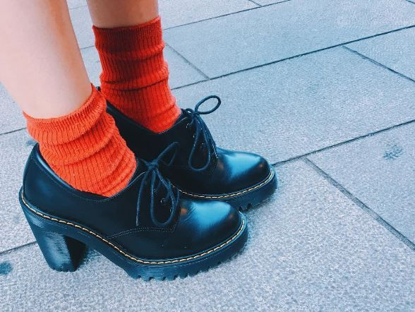 DOC'S & SOCKS: The Salome Buttero heeled boot, shared by aiknt__05.