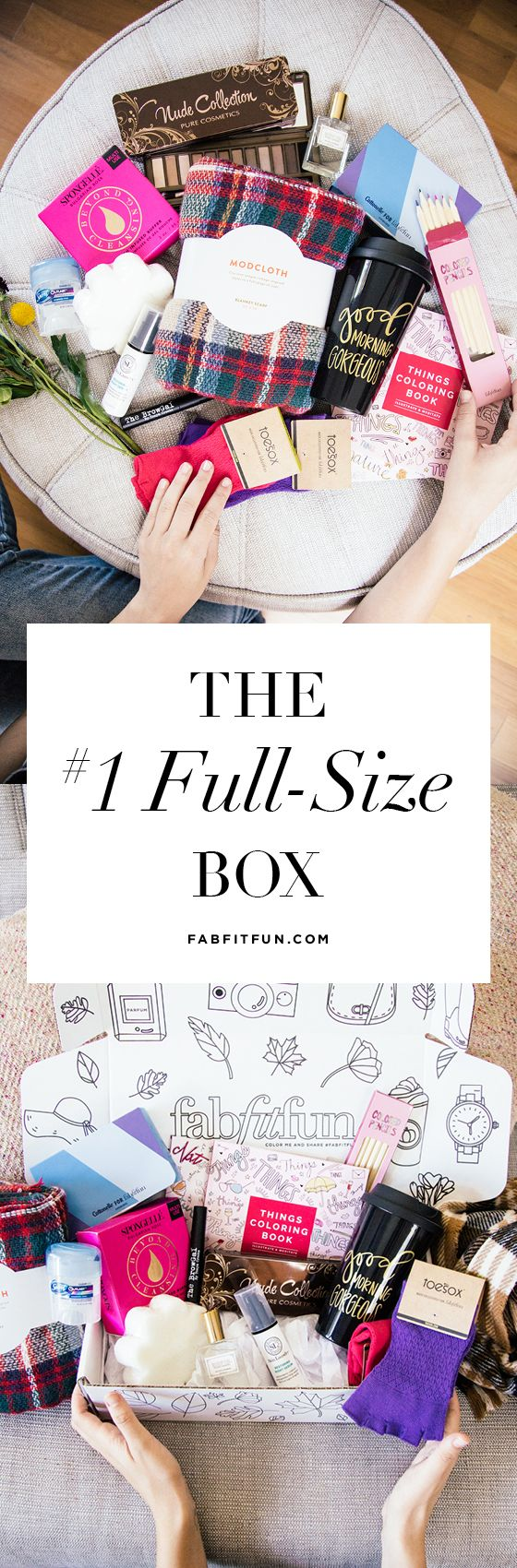 Fall into FabFitFun! Treat yourself to over $200 worth of huge full-size beauty, fashion, + fitness products for just $39.99 with code HAPPY
