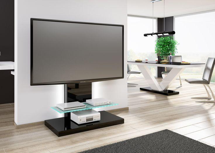MARINO MAX - elegancki i nowoczesny stolik rtv na telewizor do 70 cali. Dostępny w 4 wersjach kolorystycznych!