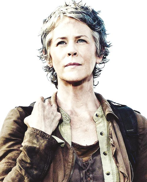Possibly the most respected female character on television today. Everyone loves and respects Carol, because she does what no one else can bring themselves to do.