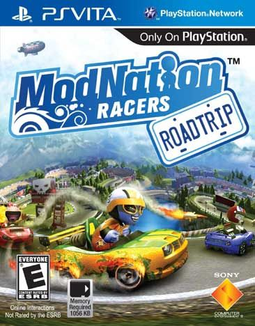 ModNation Racers Road Trip - Everyone - PS Vita