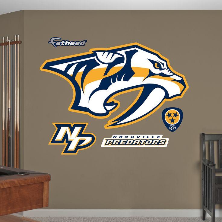 Nashville Predators Logo Giant Officially Licensed NHL