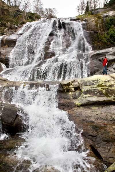 Cascada del Caozo, en el Valle del Jerte.