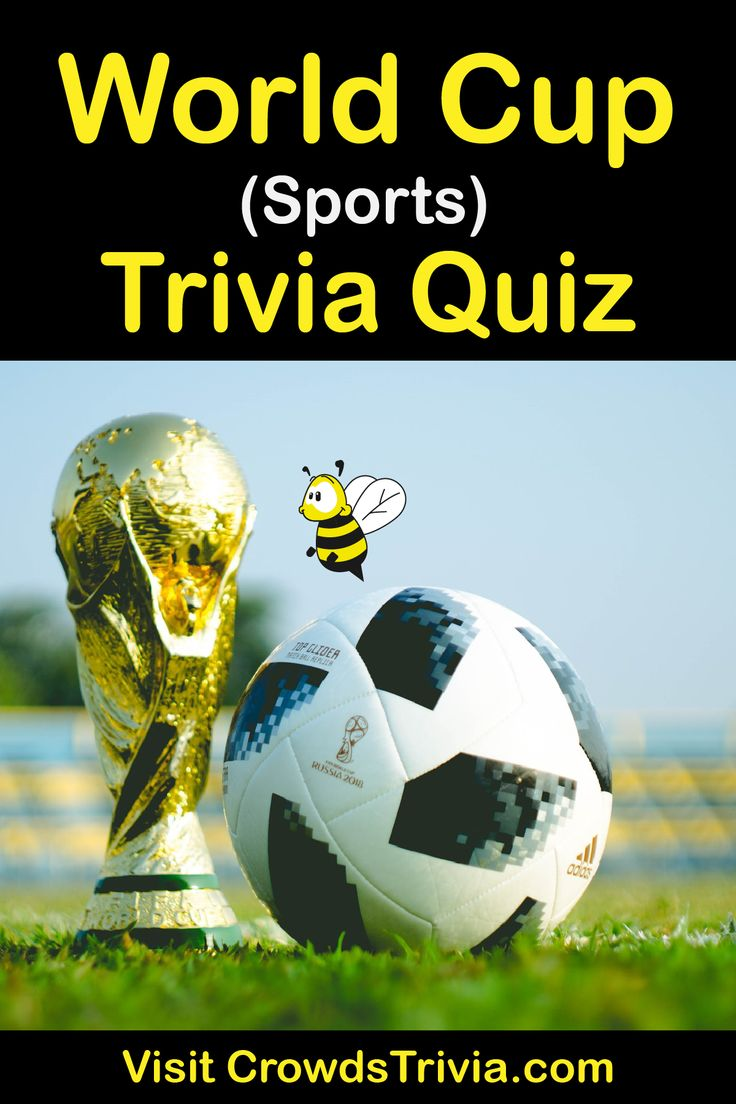 World Cup Trivia Quiz Questions and Answers Fun