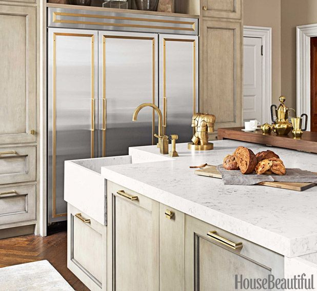 Black Kitchen Cabinets Brass Hardware: 196 Best Images About Kitchen Of The Month On Pinterest