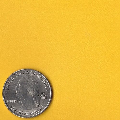 Yellow Marine Grade Vinyl Fabric
