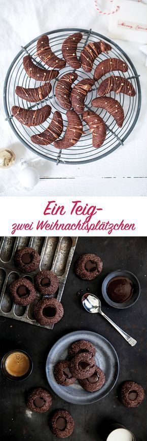 Ein Teig - zwei Weihnachtsplätzchen / christmas cookies / weihnachtskekse / Zucker Zimt und Liebe