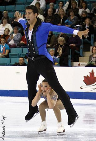 Paige Lawrence & Rudi Swiegers  2012 Canadian Championships  Short Program