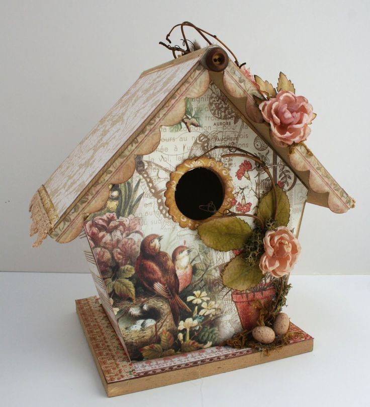 79 best bird houses feeders baths images on pinterest for Birdhouse project