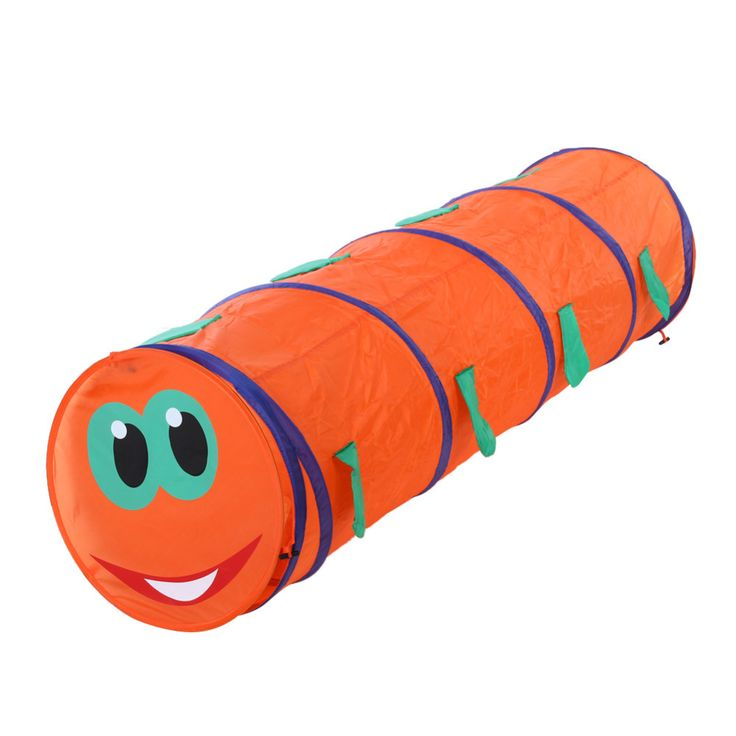 Baby Tunnel Caterpillar Crawling Animal Baby Tent Toys Indoor and Outdoor Kids Play Tent. Features: Soft,Foldable,SportsWarning: Keep from fireBrand Name: VKTECHModel Number: tent for childrenType: TentAge Range: 2-4 YearsMaterial: PolyesterWeight: 630gDimensions: 46*150 cmColor: Green, orange (rend at random)Baby Tunnel Caterpillar Crawling Animal Baby Tent Toys Indoor and Outdoor Kids Play Tent for Children