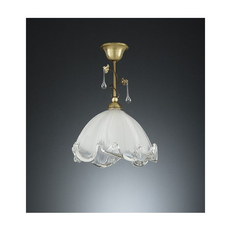 Lámparas colgantes de bronce ideales para pasillos o espacios pequeños