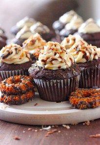 Samoa Cupcakes | Brown Sugar