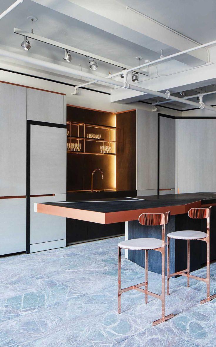 Obumex Kitchen Design by Bruno Moinard