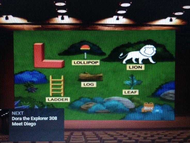 2002: Dora the Explorer - Meet Diego (I see a lollipop, ladder, log and leaf)