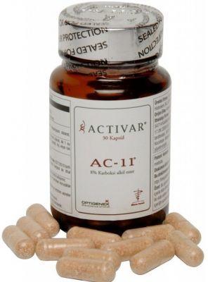 Cildinizi yaşlanmanın etkilerine karşı koruyan dokuların yenilenmesini ve korunarak güçlenmesini sağlayan #Activar AC-11 30 #Kapsül ürününü kullanabilir sipariş verebilirsiniz.