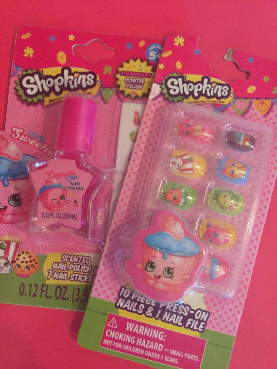 Hey, I found this really awesome Etsy listing at https://www.etsy.com/listing/271387259/shopkins-girls-nail-set-only-3-sets-left