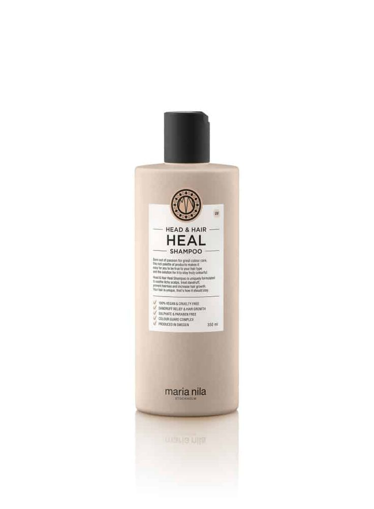 Anti-inflammatorisk og hårvækst stimulerende shampoo. Med Piroctonolamin og naturlige Aloe Vera ekstrakt der behandler og forebygge skæl og hovedbund problemer. '  Vitamin E, Apigenin og peptider stimulerer hårsækkene til øget hårvækst. Oleanolsyre forhindrer hårtab.