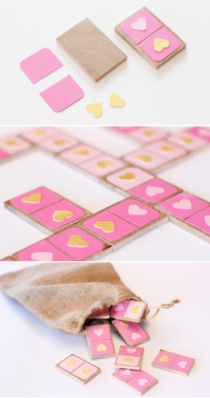 Valentine's Day Dominoes - DIY gift