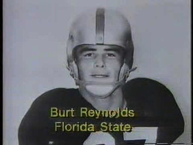 OK- so he's not my favorite actor, but he is one of my favorite Seminoles- how cute does he look in his football uniform! Actor Burt Reynolds, Florida State