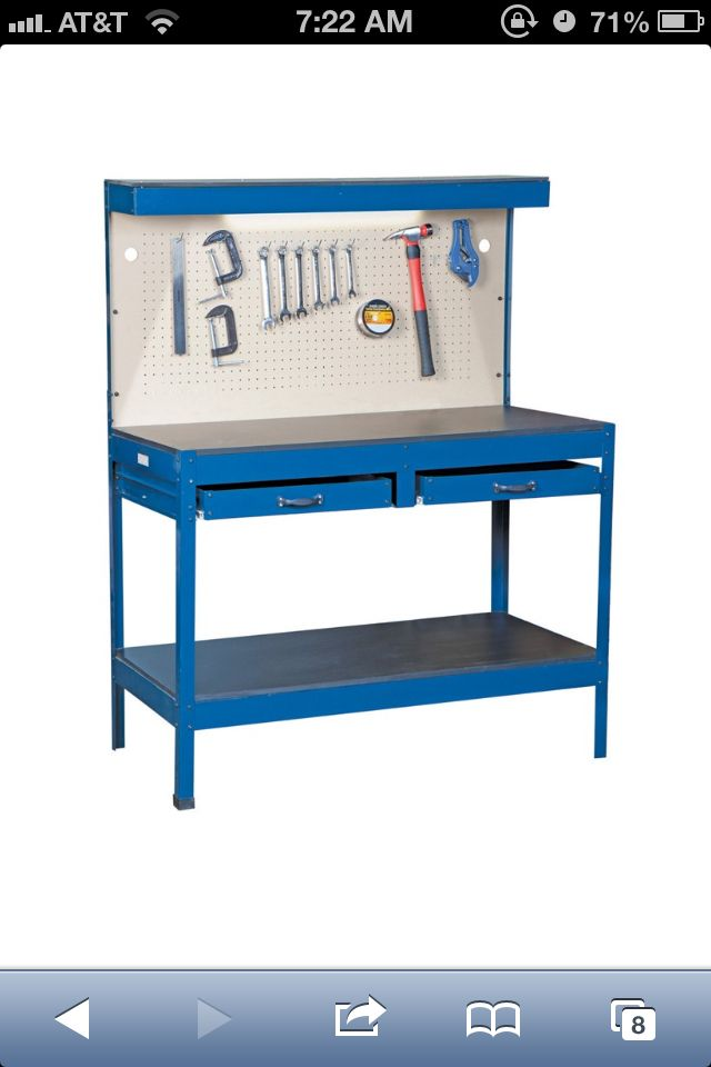 work bench from harbor freight to use in the kitchen