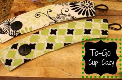 Cup cozy - to go with tea/coffee/hot choc gift sets