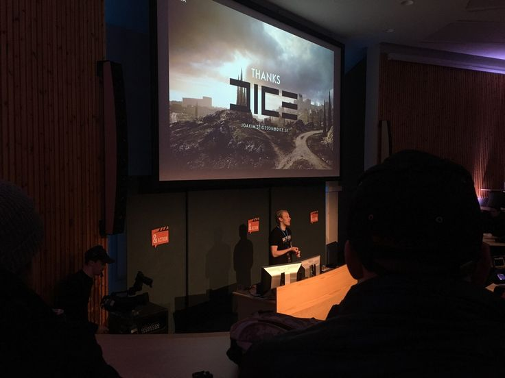 Joakim Stigsson from DICE had a talk at my school about how they made the maps in Battlefield 1!