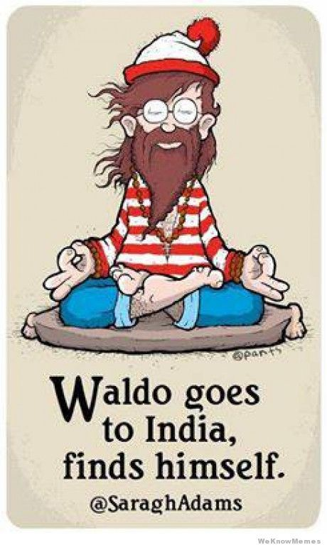 waldo goes to india finds himself