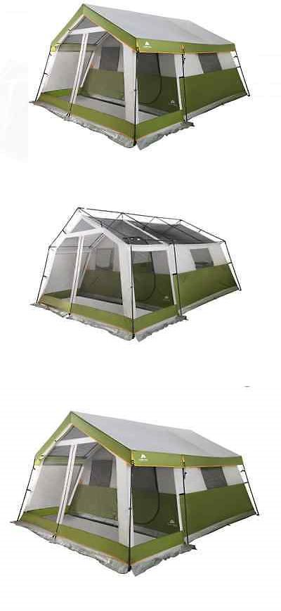 Tents 179010: Tents For Camping 10 Person Tent Large Family With Screen Porch Outdoor Cabin -> BUY IT NOW ONLY: $249.49 on eBay!