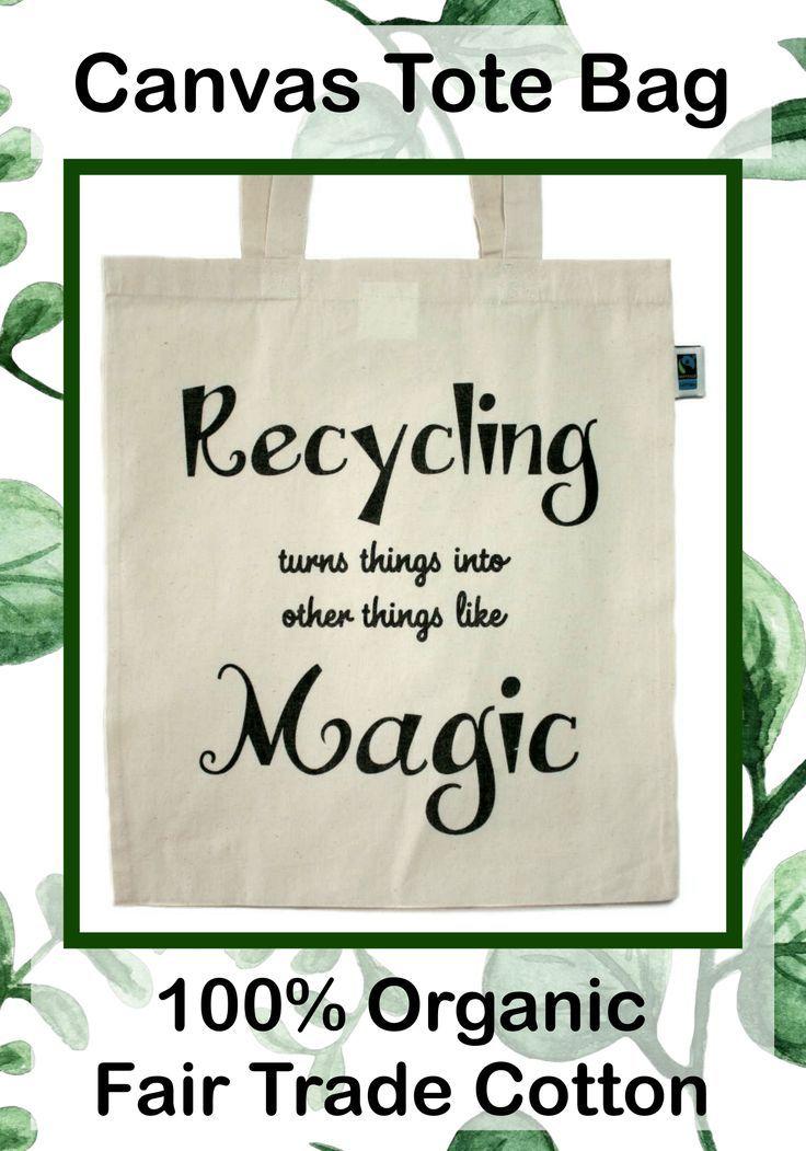 Tote bag last thing fair trade /& organic