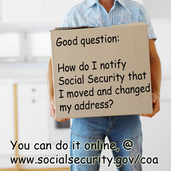 Social Security Change Of Address Form Searchaio   Social Security Address  Change Information  Free Change Of Address Form Online