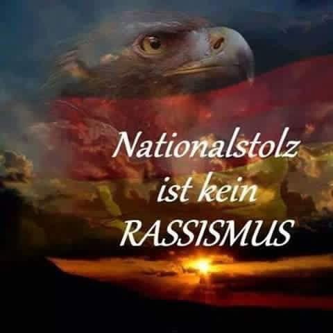 Nationalstolz ist kein Rassismus