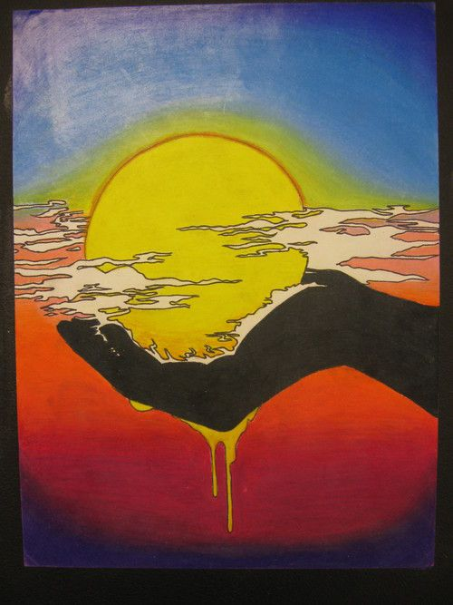 25 best ideas about sun painting on pinterest sun art for Painting projects for adults