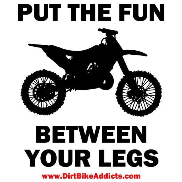 Dirt bike fun! I want one ,to have it in the ranch in Mexico :)