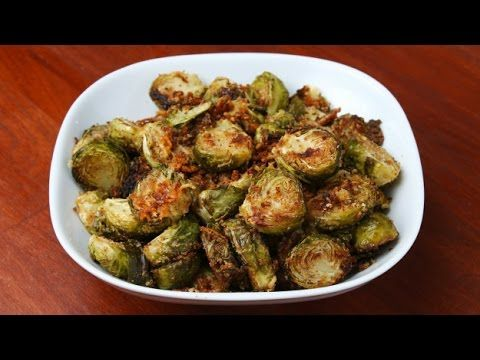 Roasted Garlic Parmesan Brussels Sprouts - Goodful - YouTube