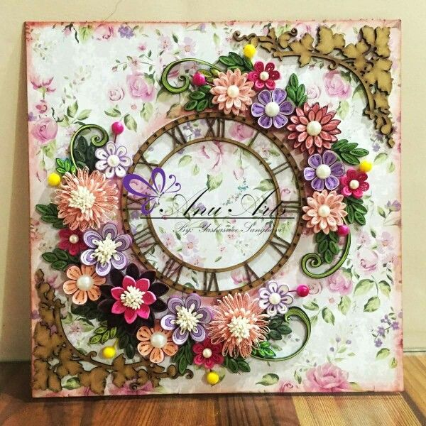 344 best Quilling Clocks images on Pinterest   Quilling ...