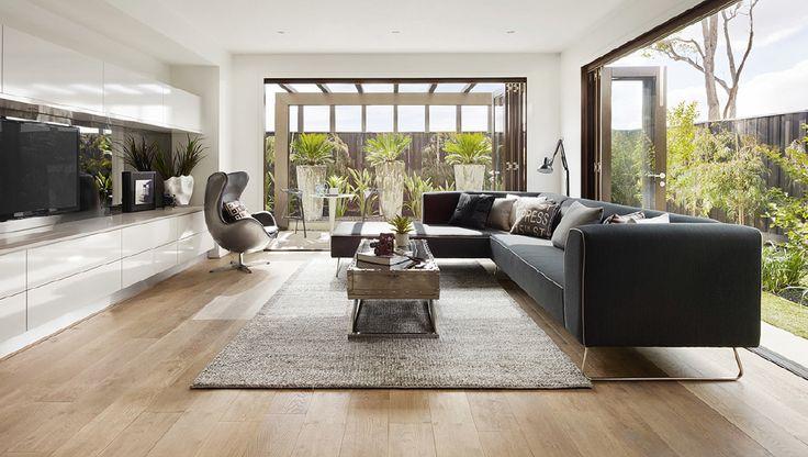 Light Grey Wash Oak Floors High Gloss Formica Mist Grey