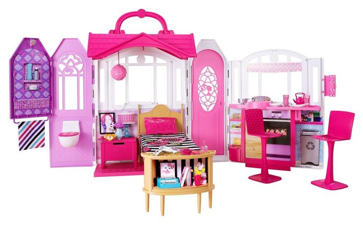 Barbie Glam Getaway House Toys Play Gift For Girls Kids Birthday Christmas NEW #Barbie