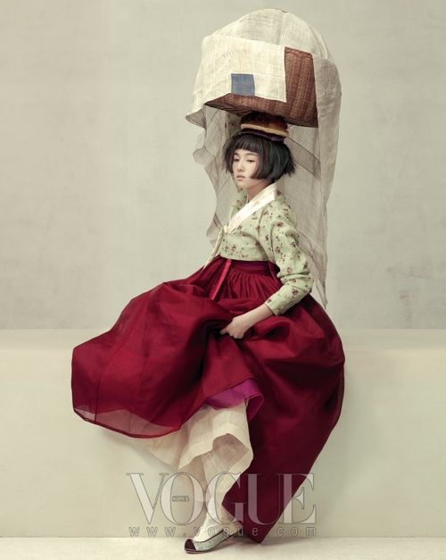Hanbok art, Vogue