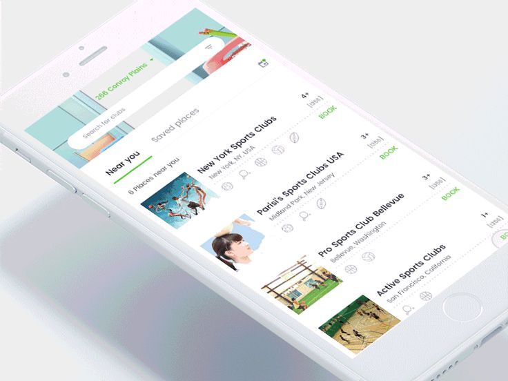 Book your playground app by Johny vino™ - Dribbble
