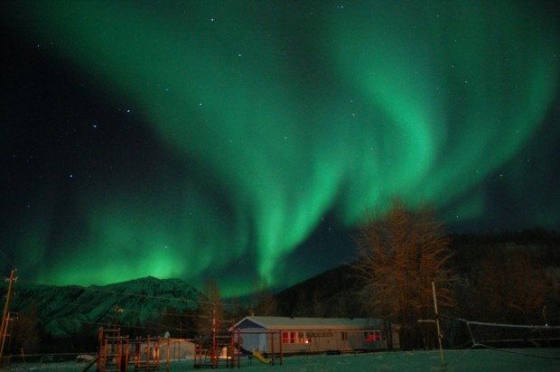 Aurora Borealis above Toad River, Alaska Hwy by Earl L Brown CBC Radio One's BC Almanac Listeners' http://www.cbc.ca/bcalmanac/photogallery/#