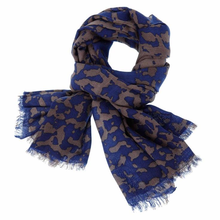 MYNUKA shawl blauwgrijs