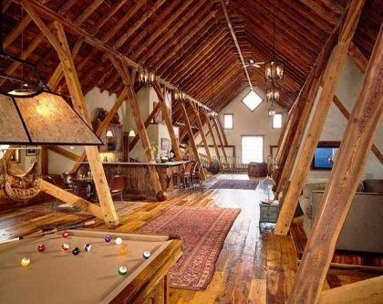 consider turning attic into a living space so make of